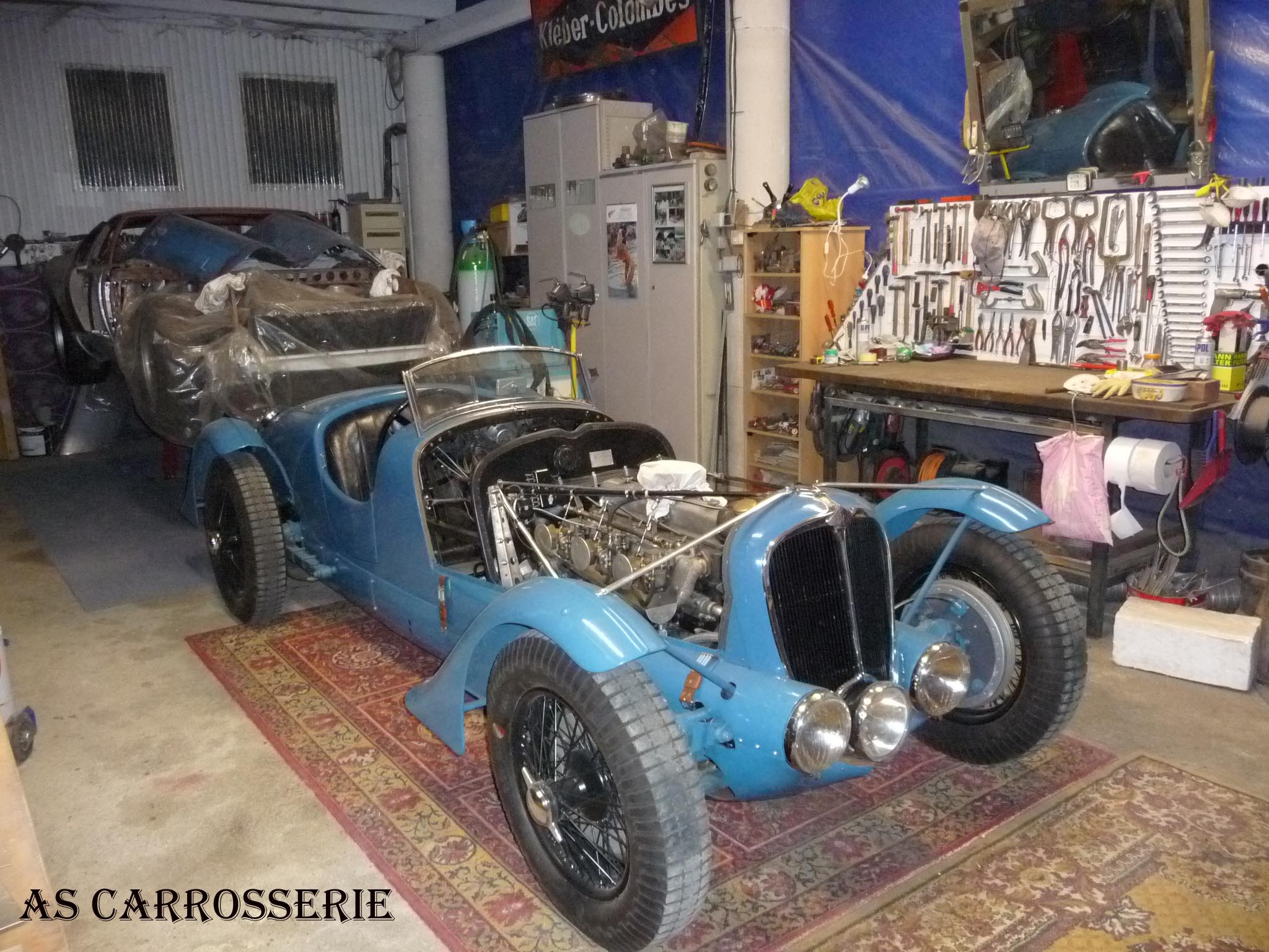 Atelier as carrosserie for Garage tolier carrossier